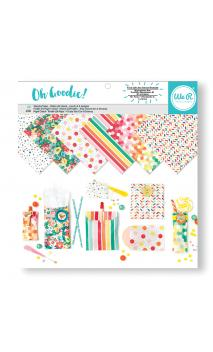 12x12 Pattern Glassine Paper Pack