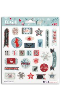 Stickers resina solsticio de invierno