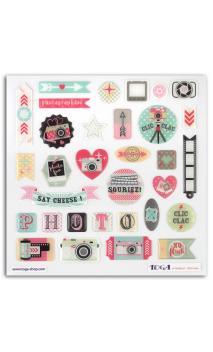 Stickers resina clic clac