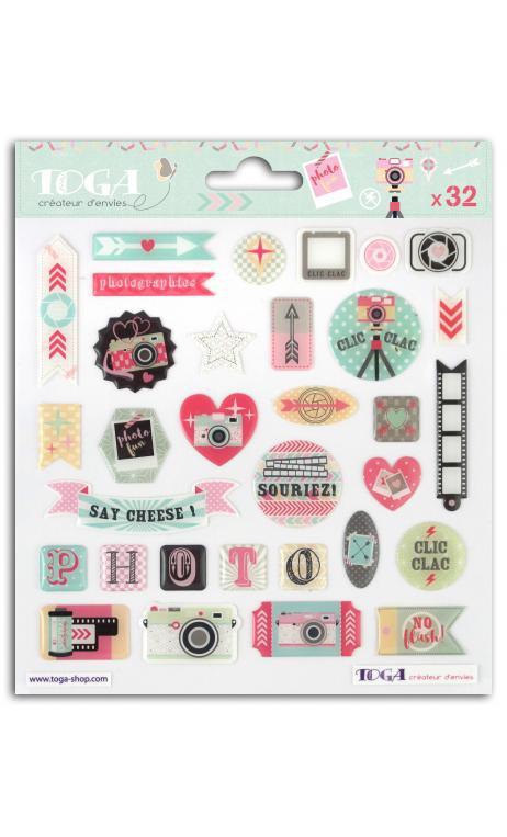 Stickers epoxy  clic clac