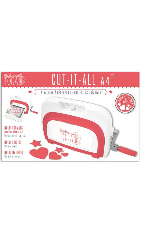 Nueva máquina cut it all - a4