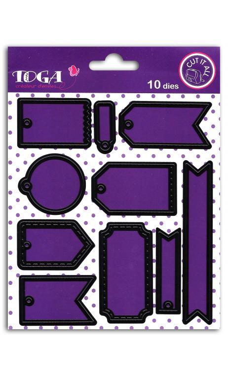Die's 10 Mini etiquetas