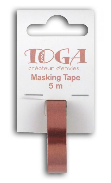 Masking tape- cobre -1cmx5m
