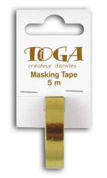 Masking tape- oro -1cmx5m
