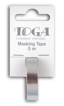 Masking tape- plata -1cmx5m