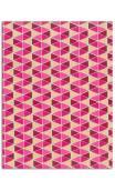 Oro de bombay-6hojasSurtido 27,8x21,6cm - rosa cereza/oro