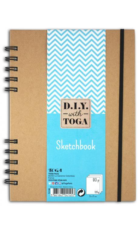 Sketchbook 15x21cm 80 pages 128g