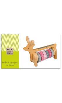 Dispensador de Masking tape madera