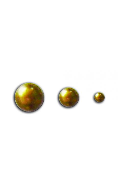 Surtido 50 Navidad perlas adh. or