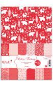 Color factory - a4 - 48 hojas Navidad Nordica