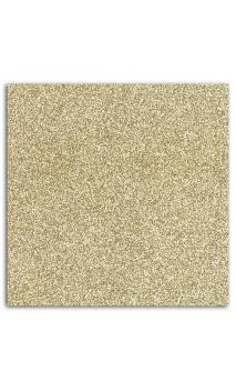 Glitter papel adh. 30x30 - or 1 hoja-- Pack 10 h.