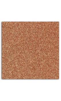 Glitter papel adh. 30x30 - cobre 1hoja(s)