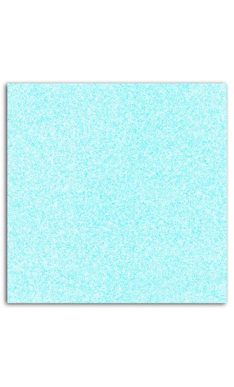 Glitter papel adh. 30x30 - azul pastel 1hoja(s)
