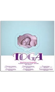 Album 30x30 nacimiento Azul