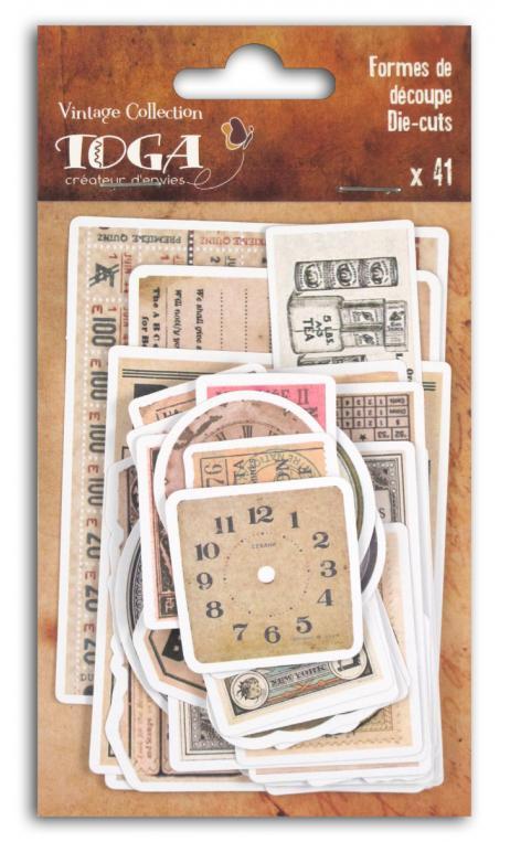 Surtido. 41 formas recortadas Le temps des secrets