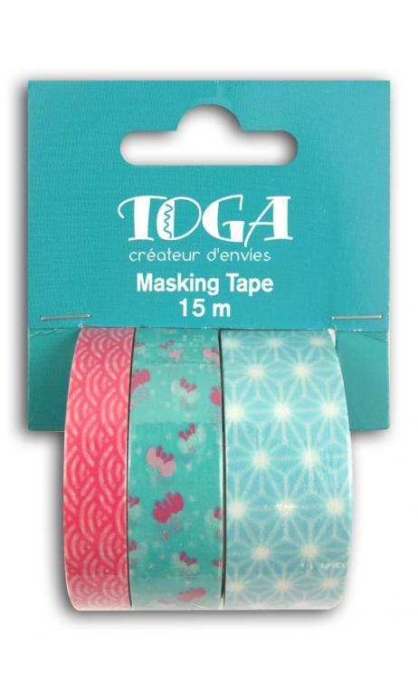 Masking tape x3 - jardin japonais 5m