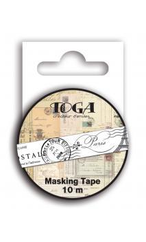 Masking tape Carte postale - 10m