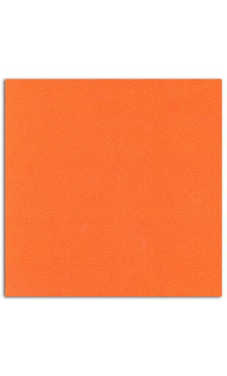 Rollos Or de Bombay 38x56 efecto cuero Naranja