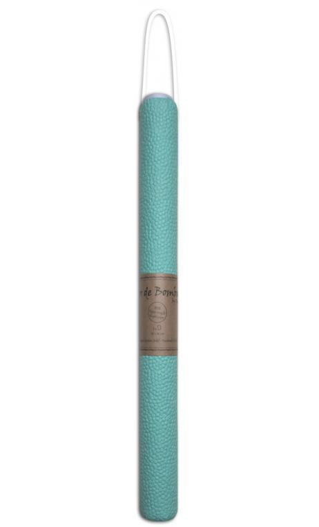 Rollos Or de Bombay 38x56 efecto cuero Verde agua