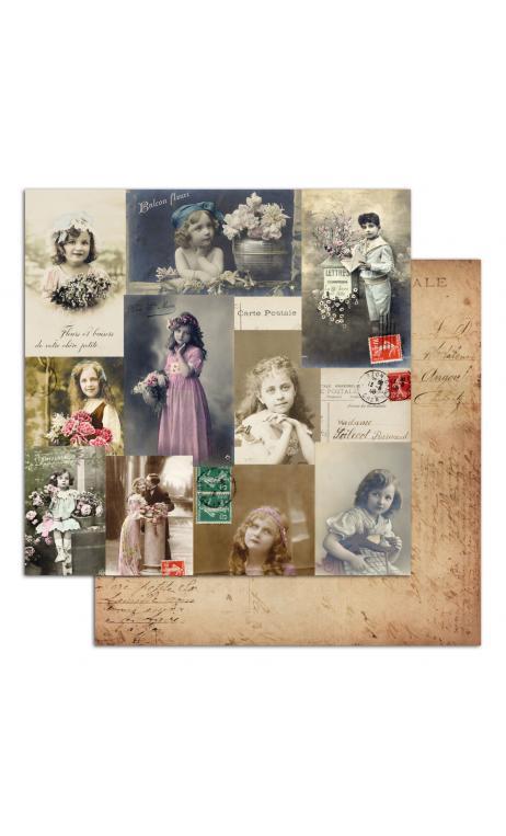 Vintage6  dos caras 30x30 - 1 Hoja