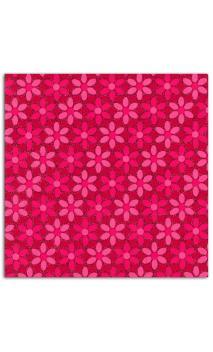 Rollos Or de Bombay 38x56 Rojo flores