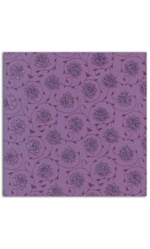Rollos Or de Bombay 38x56 Violeta flores
