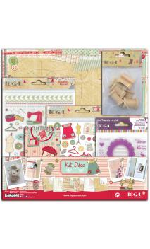 Kit decoración MISS COUTURE