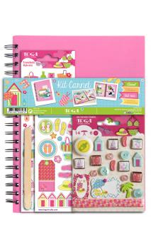 Kit Carnet creativo BEACH GIRL