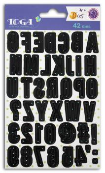 Die's alfabeto  - Mayúsculas 2 cm