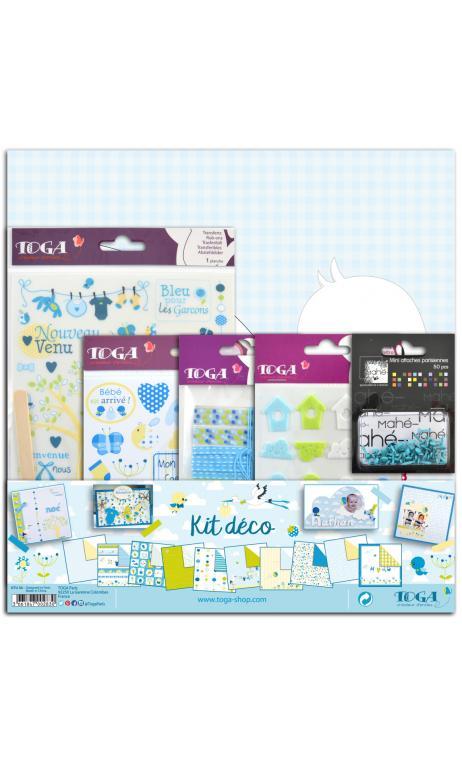 Kit deco bebe bleu