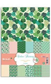 Color Factory - a4 - 48 hojas  Jungla