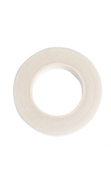 Cinta crepé floral, blanco 12 mm / 27,5 m