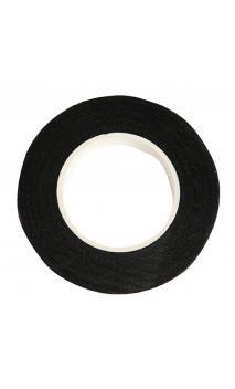 Cinta crepé floral, negro 12 mm / 27,5 m