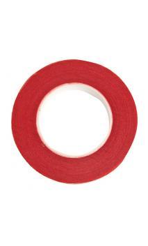 Cinta crepé floral, rojo 12 mm / 27,5 m