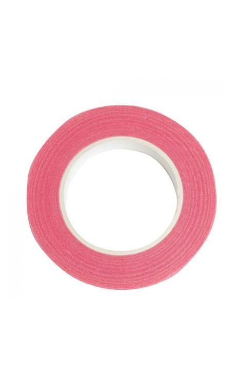 Cinta crepé floral, rosa 12 mm / 27,5 m