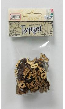Alfabeto de madera Vintage Odyssey