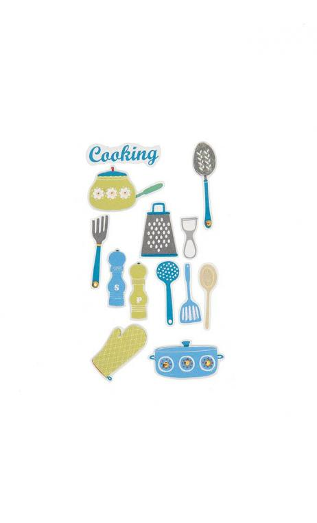 Stickers 3D, Enseres de cocina