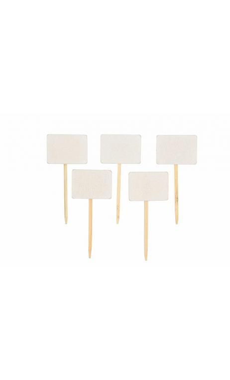 Marcador mesa blanco