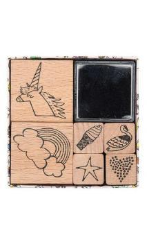 Set de sellos Magic, Arco Iris FSC 100%