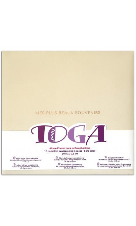 """Album 30x30 tela marfil """"mes plus beaux souvenirs"""""""