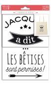 Motivos termoadhesivos A5 - Jacques a dit