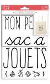 Motivos termoadhesivos A5 - Mon petit sac