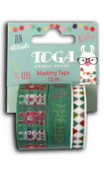 Masking tape x3 - Llama -5m