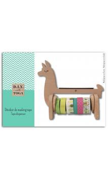 Aplicador para masking tape madera - Llama