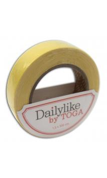 Rollo de tela adhesiva 3m - amarillo lisa