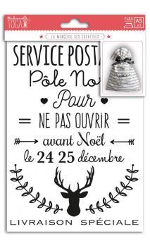Motivos termoadhesivos A5 - Servicio postal