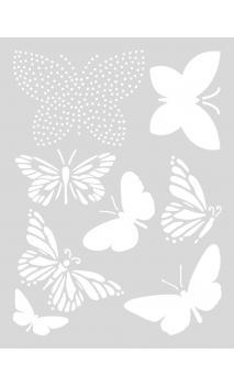Plantilla medium, mariposas