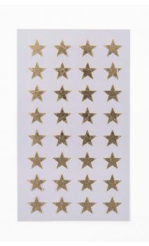 STICKERS STARS 13MM, ORO