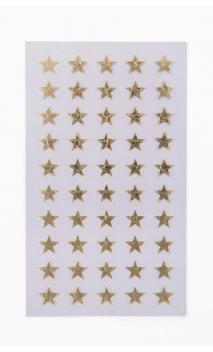 Stickers stars 10mm, oro