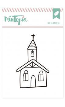 Sellos acrílicos Mi Iglesia 5 cm x 5 cm